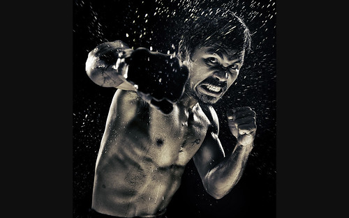 Manny Pacquiao by Howard Schatz