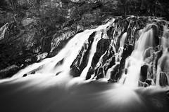 Cascade de Blangy (Hirson) B&W, par Franck Vervial