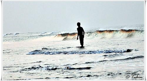 ocean sunset sea sun reflection beach water wave shore bangladesh chittagong bayofbengal coxsbazar colorphotoaward