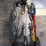 Priest of monastery near Axum, Ethiopia