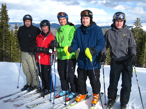 My Speed Summit Masters Camp group - 2011