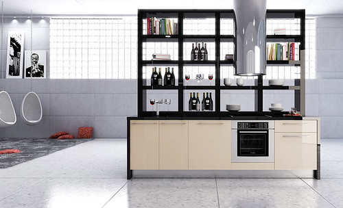 Cocinas a tu medida mobiliario para espacios peque os for Modelos de cocinas en espacios pequenos