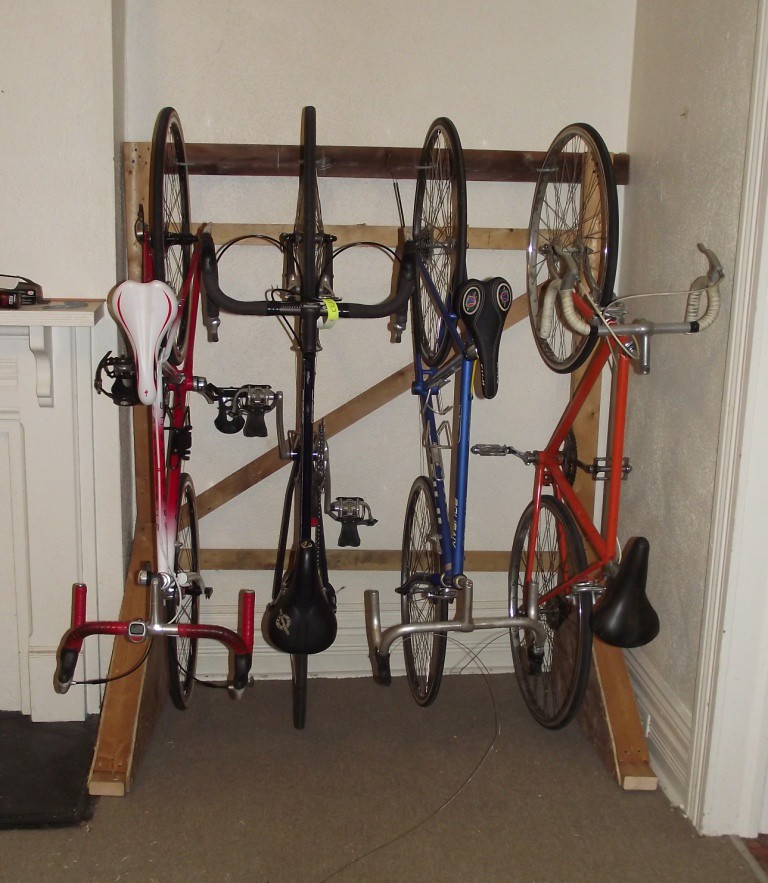 storing multiple frames in a *tiny* space, calling ideas - Bike Forums