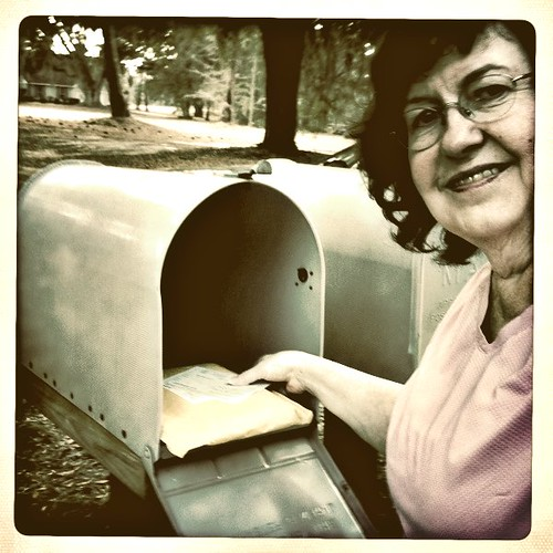 Year 5~Day 76 +47/365 AND Day 1537: Checking the Snail Mail