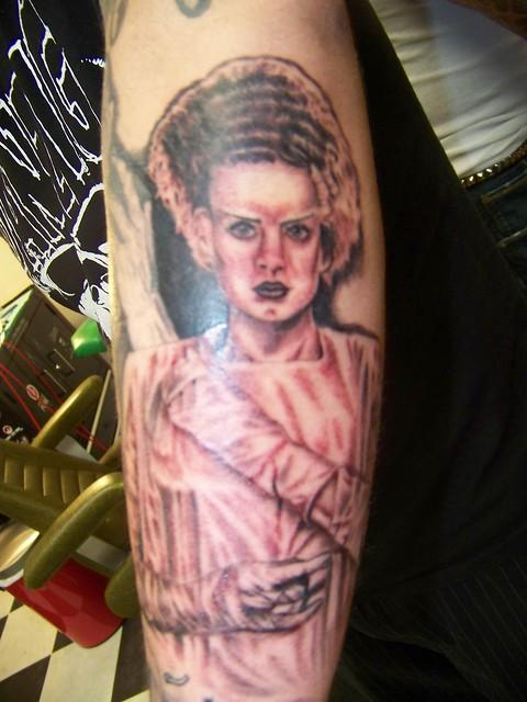 Bride of Frankenstein Tattoo