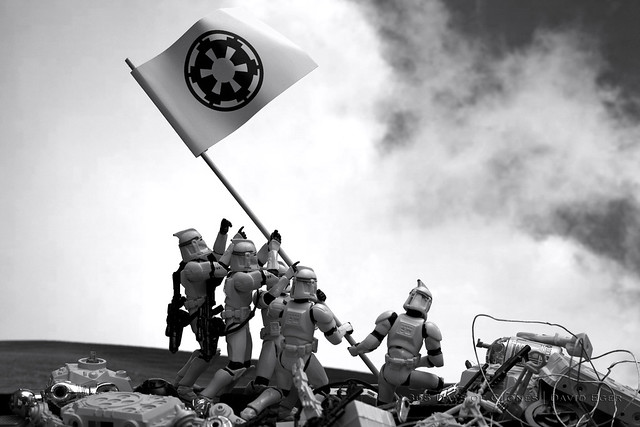 54/365 | Troopers Raising the Flag on Iwo Jima