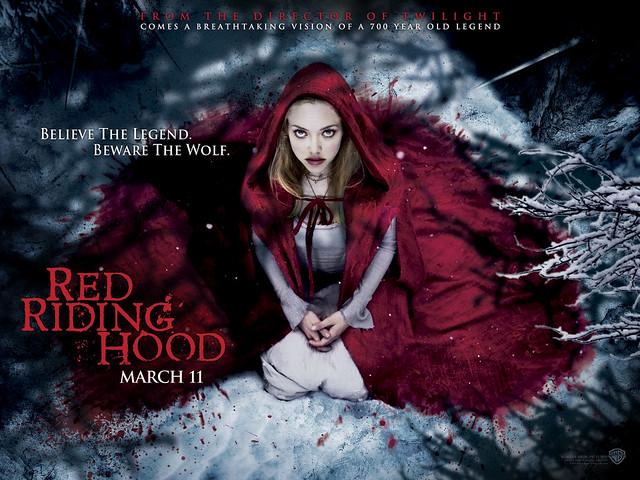 Amanda Seyfried in Red Riding Hood Movie Wallpaper Hollywood Movie Wallpaper