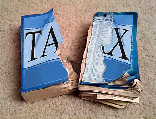 REDUCE TAXES IN