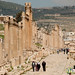 Walking Through Roman City of Jerash - Jordan