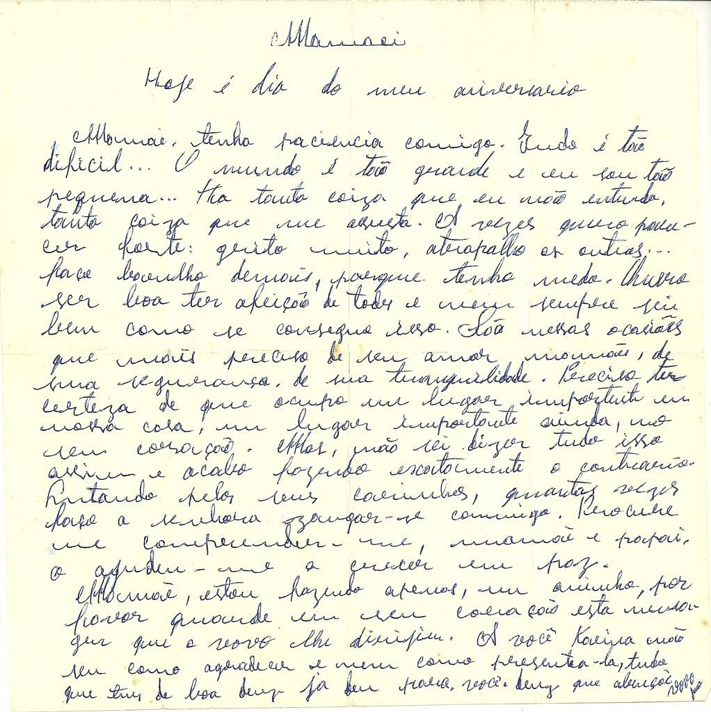 Dia das M£es Carta carinhosa s m£es A beautifull letter to