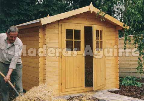 Maderas aguirre varios casetas de madera caseta de jardin bidasoa - Maderas aguirre ...