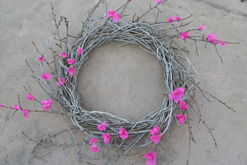 Blooming Winter Wreath