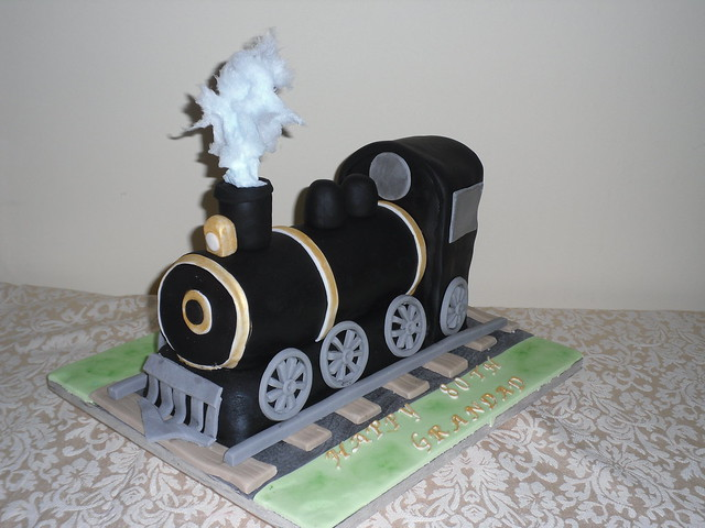 Steam Train Cakes Cake Ideas and Designs