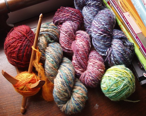 spindle-spun yarns
