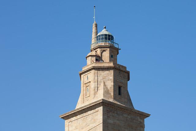 La Torre de Hércules. Galicia. A Coruña.