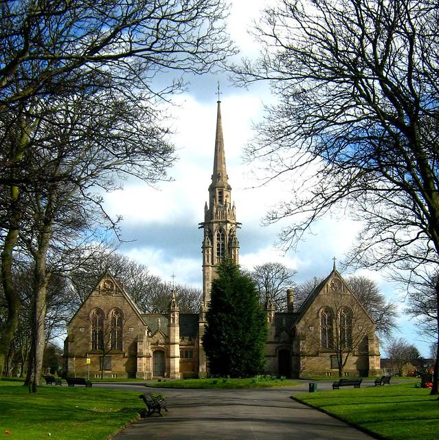 Chapels to Harton Cemetery
