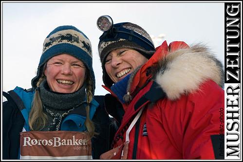 Femundlopet 2011: Marianne Skjøthaug & Elisabeth Edland