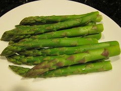 choy sum(0.0), vegetable(1.0), asparagus(1.0), produce(1.0), food(1.0), asparagus(1.0),