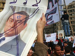 Protesters across the country are determined Mubarak should go. Credit: Cam McGrath/IPS.