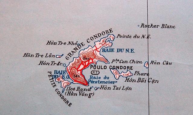 Poulo Condore - Atlas des colonies françaises, Grandier, 1934
