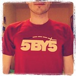 5by5 Official T-Shirt