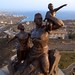 African Renaissance Monument - From Above