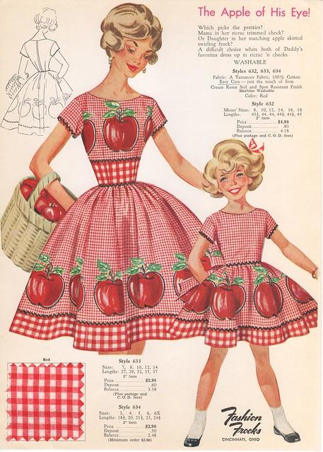 Fashion Frocks Style Card-1960