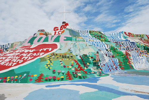 Salvation Mountain!