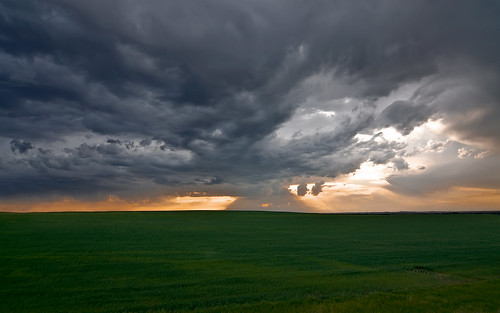 sunset storm green weather clouds rural nikon nebraska tokina chase agriculture 1224mm severe d90
