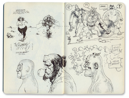 Sketches of marcelo braga parka blogs for What to draw inspiration