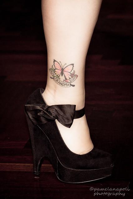 high heel tattoo flickr photo sharing. Black Bedroom Furniture Sets. Home Design Ideas