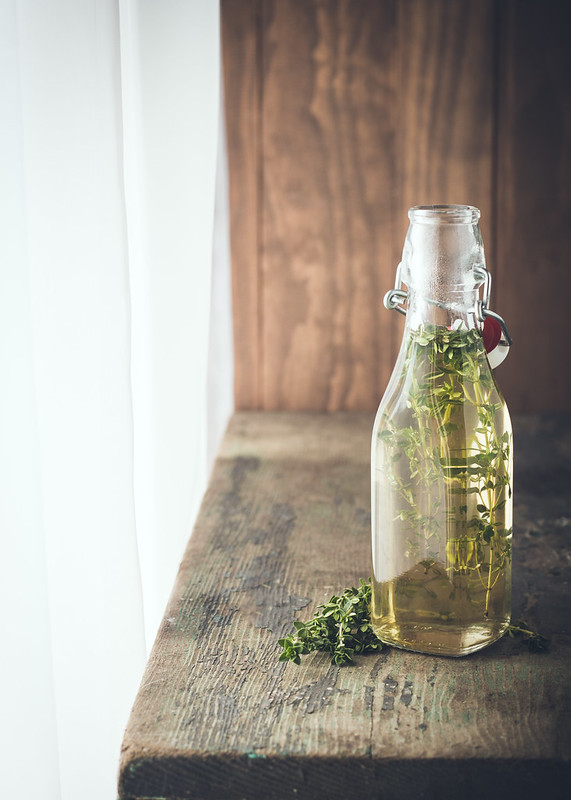 Thyme Simple Syrup