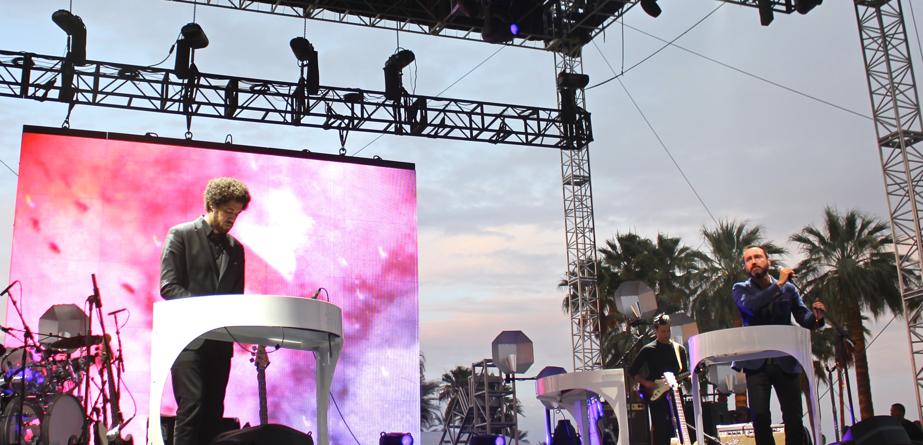 Broken Bells at Coachella 2014 on Stage