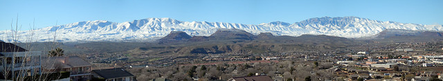 #365 Panorama Snow Mountains