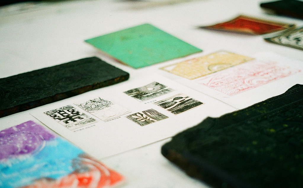 printmaking at fotanian 2011