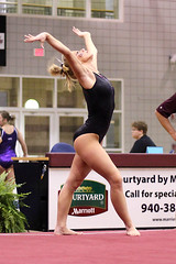 TWU Gymnastics - Brittany Johnson Floor
