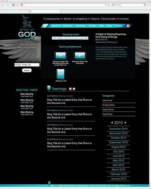 3 0-SOGF-Teachings_NEW | Spirit of God Fellowsjip | Flickr