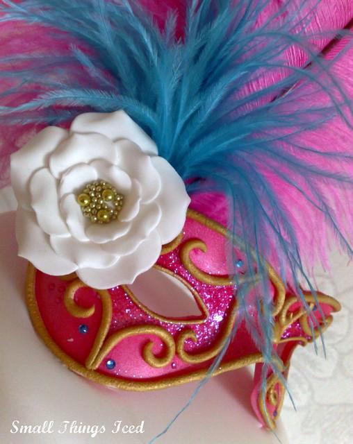 Masquerade Mask Close-up