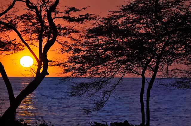 Kolea Sunset, Hawaii