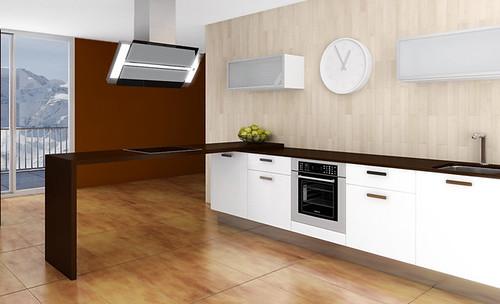 Cocinas a tu medida mobiliario para espacios peque os - Cocinas americanas en espacios pequenos ...