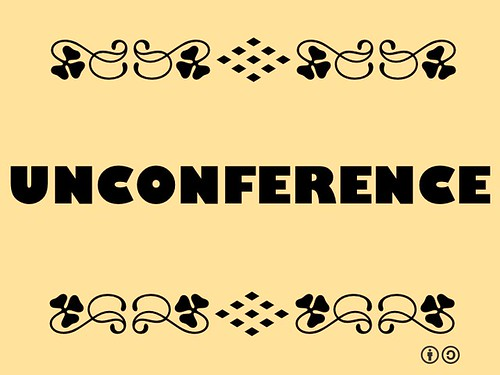 Buzzword Bingo: Unconference = A facilitated, participant-driven conference centered on a specific topic