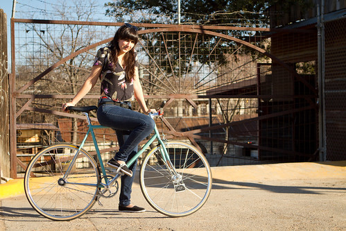 A Girl and Her Bike: Lauren and Her Bianchi Pista Via Condotti