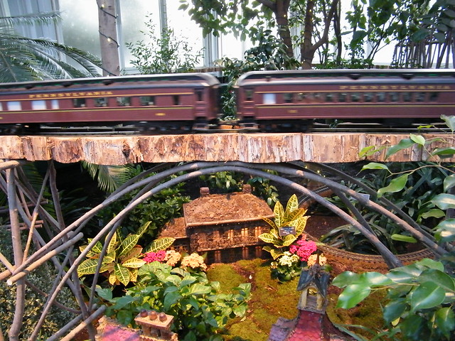 Pennsylvania Railroad Model Trains Bronx Botanical Gardens Train Show Flickr Photo Sharing