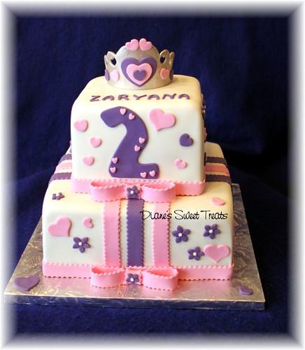 2nd Birthday Cake Designs For Girls