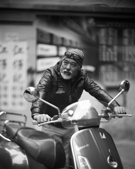 vespa - analog photography in hong kong