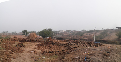 View from the site in Rakhigarhi, India