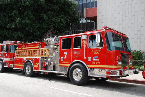 LOS ANGELES COUNTY FIRE DEPARTMENT (LACoFD) ENGINE 7