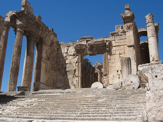 The Temple of Bacchus at Baalbek (III)