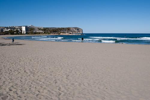 Playa del Arenal, Javea