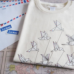 Paper Hummingbird 1 Photos | Airmail T-shirt | 675